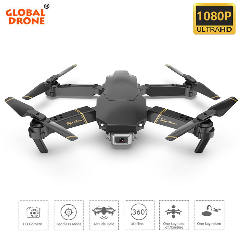 Global Drone EXA Camera Quadrocopter Dron RC Helicopter Foldable FPV Quadcopter Mini Drones with Camera HD