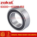 ZOKOL от 63000 до 63010 RS, утолщенные подшипники для печатной машины, подшипники 63001, 63002, 63003, 63004, 63005, 63006, 63007, 63008, 63009, RS