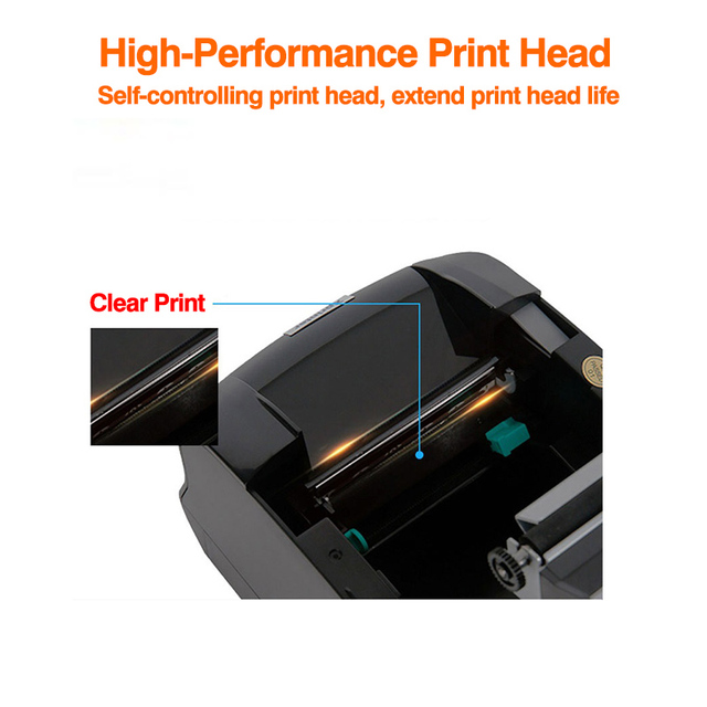 Xprinter etykieta naklejka z kodem kreskowym drukarka termiczna drukarka paragonów 2 w 1 maszyna do drukowania rachunków 20mm-80mm dla systemu Android iSO windows