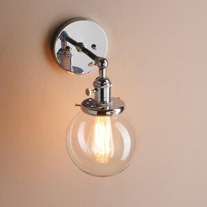 Image 4 - Permo 5.9 Vintage Wandlamp Moderne Glazen Wandkandelaar Wandlampen Armaturen Armatuur Loft Nachtkastje Spiegel Lamp Trapverlichting