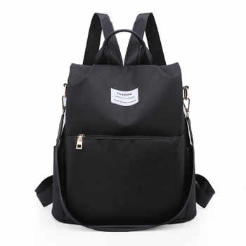 Fashion Large Capacity Backpack Women Shoulder Bag High Quality Light Waterproof Oxford Women Travel Backpack