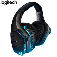 Logitech G633 Wired DTS 7.1 Surround Sound RGB Gaming Headset Headphones Microphone For Mouse Gamer Overwatch DOTA PUBG LOL