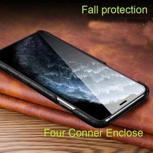 Image 3 - Iphone用本革ケース11 12プロマックスミニ12ミニse 2020 7 8プラス12Pro 11Pro × xr xs最大ケース高級電話バックカバー