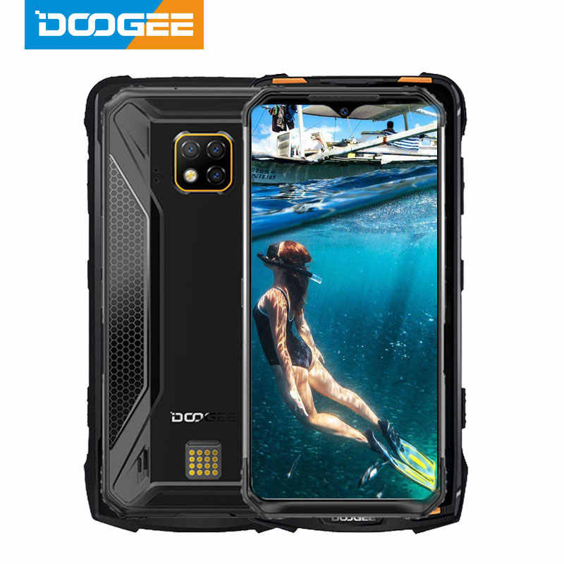 IP68 DOOGEE S95 Pro Helio P90 Octa Core 8GB 128GB 48MP Cam Android 9.0 Modulare Robusto Telefono Cellulare 6.3 pollici FHD Display 5150mAh