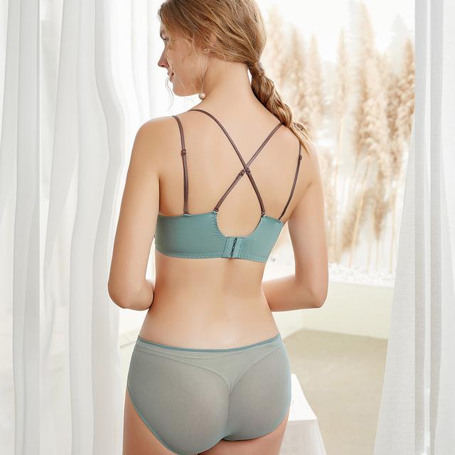 Bras for Womens Lace Bra Bralette Wireless Sexy Lingerie High-end Refined Brassiere Underwearr Tops A B C Cup