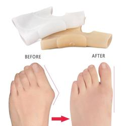 1/2 PCS Silicone Gel Bunion Toe Protector Straightener Corrector Spreader Splint Pad Anti Friction Feet Corrector Care Tool