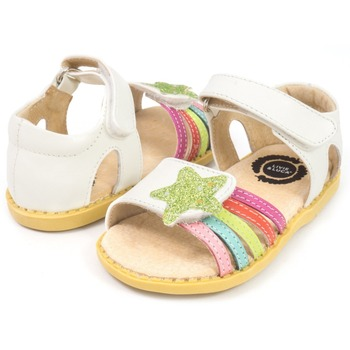 Girls Sandals Genuine Leather Children Shoes for Flower Kids Fashion Baby Toddler