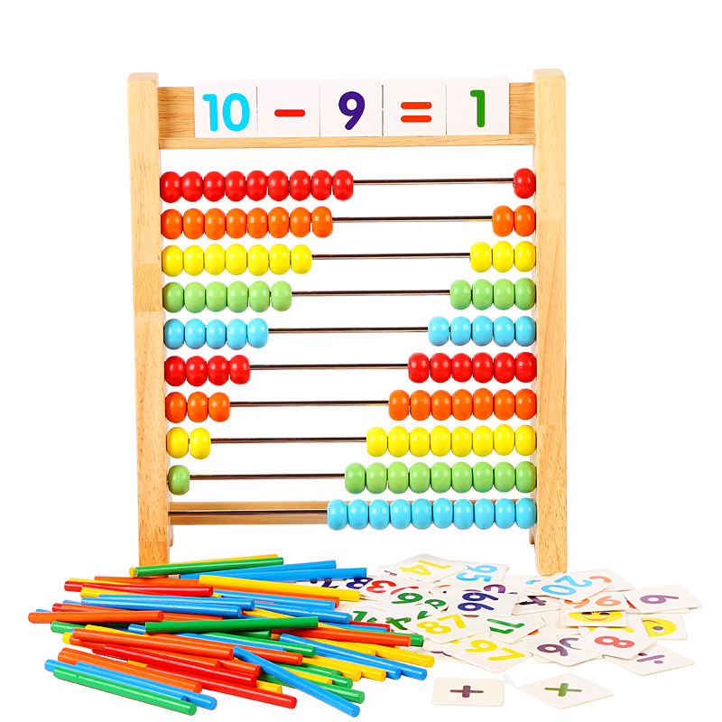 Calculation Frame Kindergarten Young STUDENT'S Counter Children Arithmetic Rods Mathematics Abacus Arithmetic Teaching Aids Earl