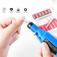 Electric-Nail-Drill-Machine-Kit Nail-File Nail-Art-Tools-Kit Pedicure Toenails 0-20000rpm
