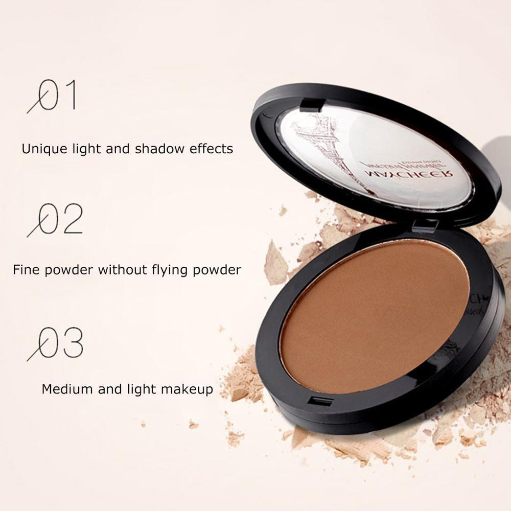 Foundation Natural Concealer Brighten Shimmer Dark Skin Face Powder Contour Shimmer Bronzer Highlighter Makeup Maquiagem
