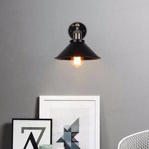 Image 5 - בציר מנורת קיר, תעשייתי רטרו קיר אור, חדר שינה סלון קיר פמוטים, עבור מסעדת מסדרון חנות קישוט תאורה