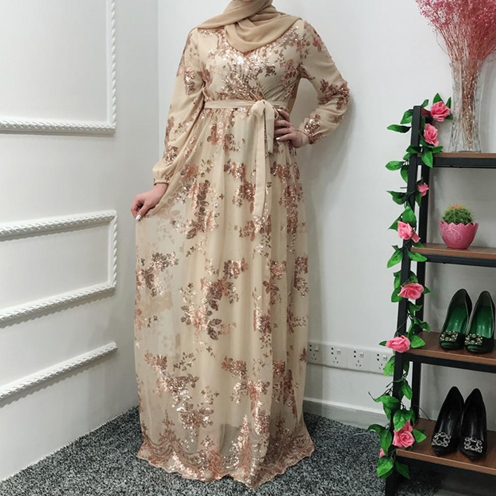 Women Abaya Turkey Arabic Lace Evening Hijab Muslim Dress Caftan Kaftan Morocco Robe Musulmane Islamic Clothing Vestidos Dresses