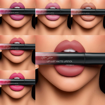 12 Colors Matte Nude Lip Gloss Waterproof Liquid Lipstick Long Lasting Lip Makeup Red Lip Keep 24 Hours Makeup Lip Gloss TSLM1 недорого