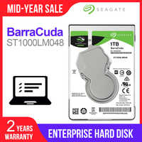 """Seagate 1TB 2.5"""" Internal HDD Notebook Hard Disk Drive 7mm 5400RPM SATA 6Gb/s 128MB Cache hdd For Laptop ST1000LM048"""