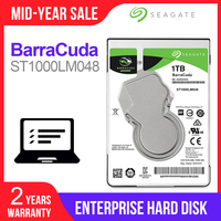 Seagate 1TB 2.5 Internal HDD Notebook Hard Disk Drive 7mm 5400RPM SATA 6Gb/s 128MB Cache hdd For Laptop ST1000LM048
