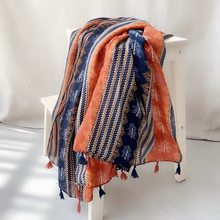 Mulher lenço quadrado primavera verão moda senhora gradiente colorido silk muffler ultra-fino respirável feminino xale cobertor conjunto