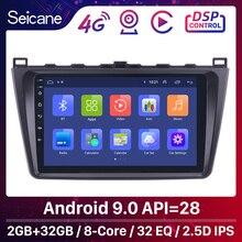 Seicane Android 9.0 2DIN Auto Unità di Testa Radio Audio GPS Multimedia Player Per Mazda 6 Rui ala 2008 2009 2010 2011 2012 2013 2014