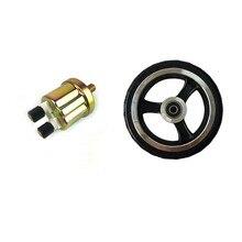 Motoröl Druck Sensor Gauge Sender Schalter Senden Einheit 1/8 Npt & 6 Zoll Roller Rad für Rollstuhl Hinterrad