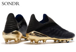 Sneakers Men Football Shoes Soccer Cleats Boots Long Spikes FG Spikes Sneakers Soft Indoor Turf Futsal Soccer Shoes 2020