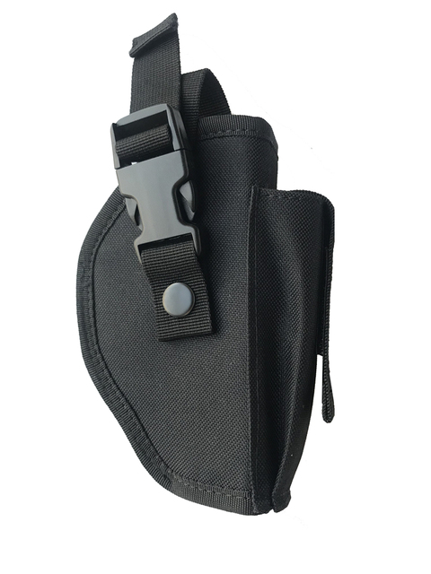 Tactical Pistol Gun Glock Holster with Magazine Pouch Concealed Carry Handgun Holder Fit Most Size for Right Hand 5