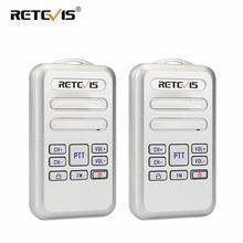 Retevis RT20 מיני מכשיר קשר רדיו 2pcs 2 W UHF משדר VOX FM רדיו סוג C USB תשלום 2 דרך רדיו ללכת לדבר Comunicador