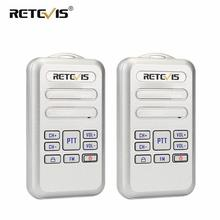 Retevis RT20 Mini Walkie Talkie Radio 2pcs 2W UHF Transceiver VOX FM Radio Type C USB Charge 2 Way Radio Walk Talk Comunicador