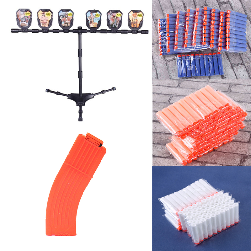 Classic Toy Gun Target Accessories For Nerf Gun Water Bullet Guns Shooting Practice Target Outdoor Game Kids Toys Birthday Gift