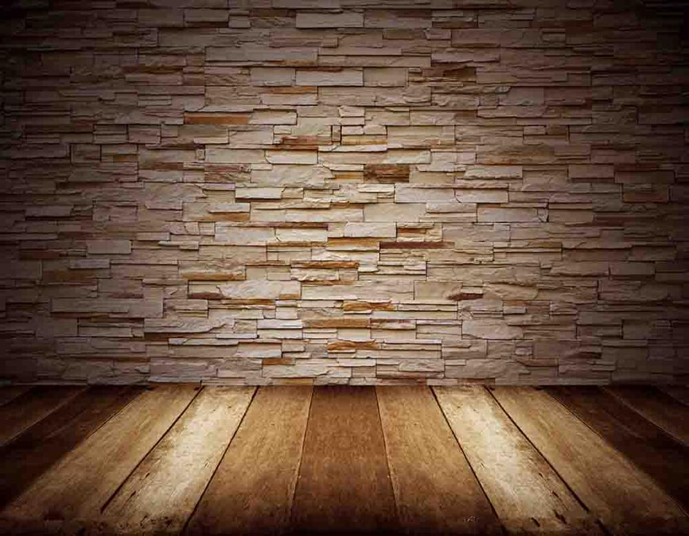 SHENGYONGBAO Art Cloth Custom Photography Backdrops Prop Brick Wall wood Planks Theme Photo Studio Background 19048 6025 in Background from Consumer Electronics