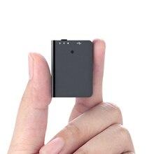 QZT Small Voice Activated Recorder Mini Digital Voice Recorder Micro Sound Recording Device MP3 Player Secret Audio Recorder 8GB