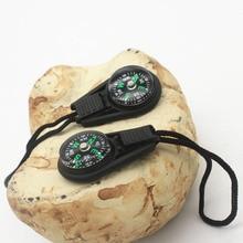 Горячая Распродажа Мини Компас, выживание комплект с брелок для кемпинга на открытом воздухе Пеший Туризм Охота MVI-лепно
