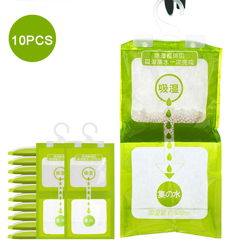 Wardrobe Dehumidifier-Bags Absorbent-Bag Moisture Hanging-Drying-Agent Household Wholesale title=