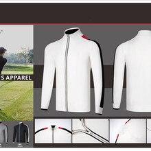 K Мужская одежда для гольфа гольф куртка гольф свитер мужской свитер куртка теплый Гольф свитер