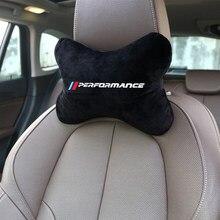 Appui-tête simple en flanelle de coton, oreiller de voiture des deux côtés pour E46 E39 E36 E60 E87 BMW E90 F20 F30 F10 F10