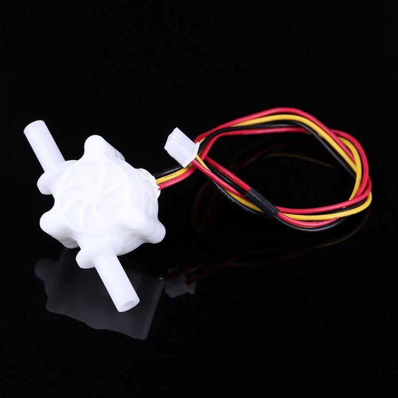 0,25-3,0 л/мин Диаметр: 6 мм поток воды Сенсор жидкости расходомера жидкости зал Магнитный Сенсор SEN-HZ06S