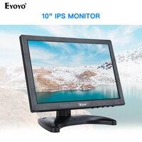 Eyoyo em10 10 Polegada ips pequeno monitor de tela lcd computador tv display 1280x800 com hdmi vga bnc av para pc cctv monitor segurança|Tela e monitor de CFTV| |  -