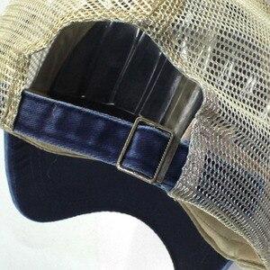 Image 5 - Lato Mesh czapka z daszkiem mężczyzna kobiet Snapback czapki Hip Hop stałe dorywczo czapki kości tata kapelusz Casquette regulowane gorras hombre