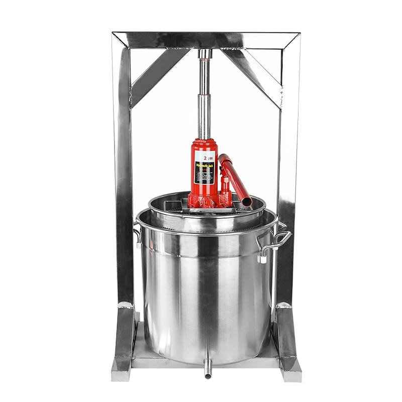 Honey Grape Crusher Stainless Steel Fruit Crusher Household Winemaker Equipment Winemaker Filter Press Juicer