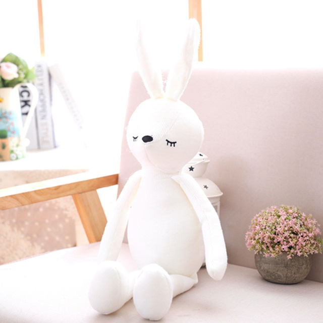 Cute Long-legged Rabbit Elephant Plush Dolls & AccessoriesToy Birthday Gift Appeasing Doll Child Gift Plush Classic Toys  pillow