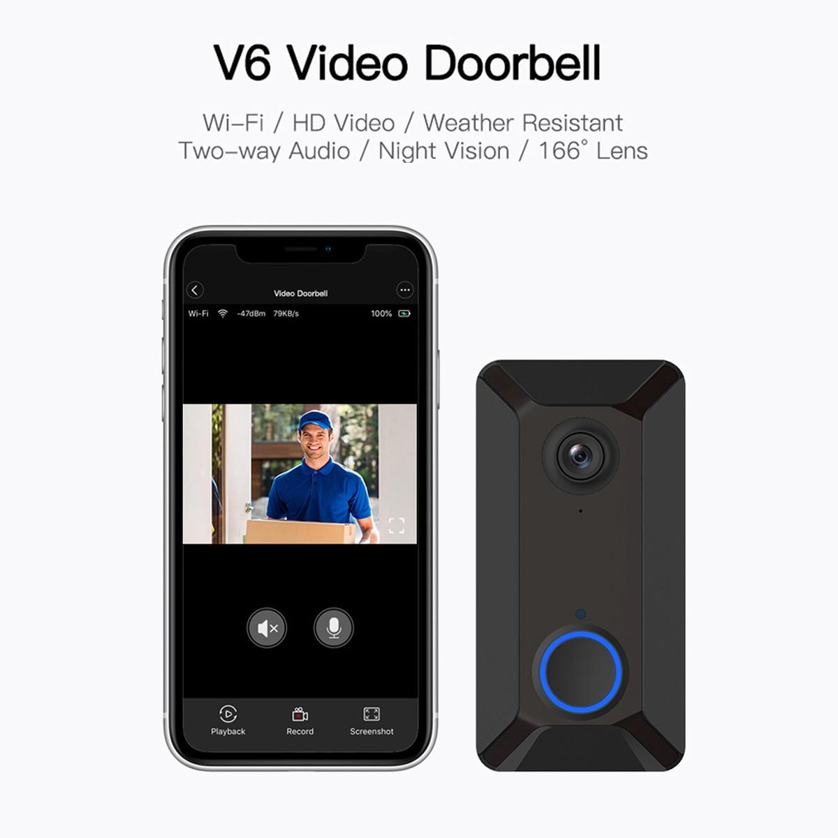 Video doorbell-v6 radio camera