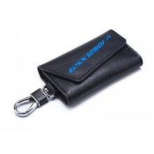 Porte-clés 3D en peau de vache porte-clés Collection chaîne porte-clés pour Suzuki GSX1250FA GSX 1250 FA moto Badge porte-clés