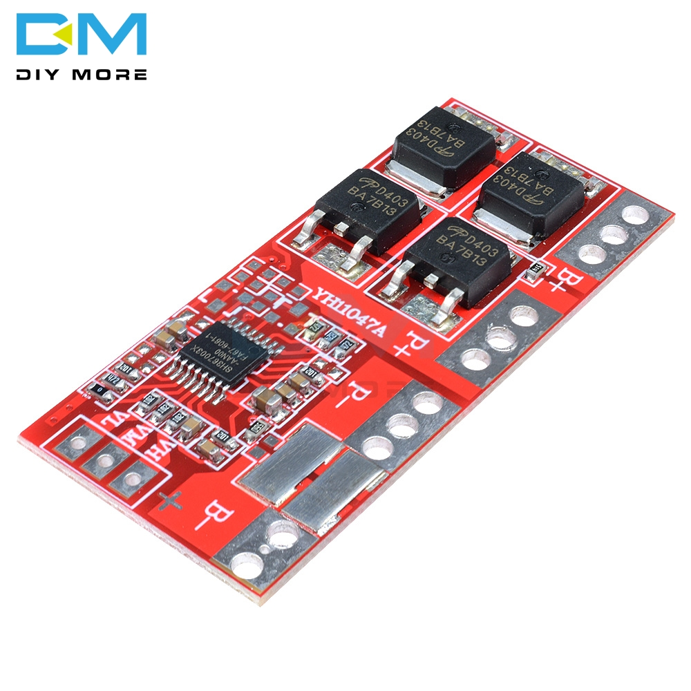 3S 30A Max Li-ion Lithium 18650 Battery Charger Module Short Circuit Overcharge Overcurrent Over Discharge Protection Board BMS image