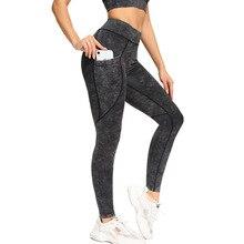 Seamless Yoga Pants With Pocket Women Yoga Leggings Fitness Running Leggin High Waist Stretchy Gym Leggings Slim Workout Tights
