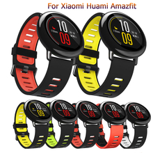 Replacement Silicone Watch Band Bracelet Wrist Strap bracelet for Huami Amazfit fashion Strap 22mm Watchbands Sports Smart Watch 20mm 22mm 26mm soft silicone sports watch band high quality replacement watch strap classic bracelet wrist band