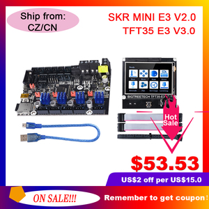 BIGTREETECH BTT SKR MINI E3 V2.0 Board TFT35 E3 V3.0 Touch Screen TMC2209UART TMC2208 For Ender 3 Upgrade CR10 PRo SKR V1.4