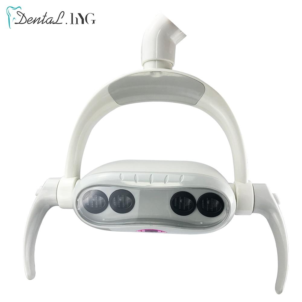 dental led luz 2 4 led lampada oral sensivel led lampada para cadeira dental unidade de