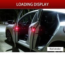 2 шт., сигнальные огни для открывания дверей автомобиля, 3 режима сигнализации, магнитный беспроводной 5 светодиодный стробоскоп, мигающий, анти-задние коллизии