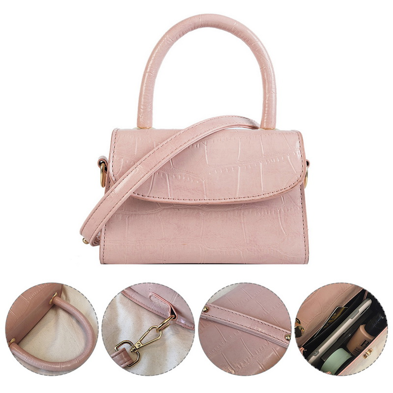 Hc4963b834beb45c7ba285f775645956f3 - New Women Shoulder Messenger Bag Ladies Handbags Casual Solid PU Leather Handbag Fashion Ladies Party Handbags Clutch