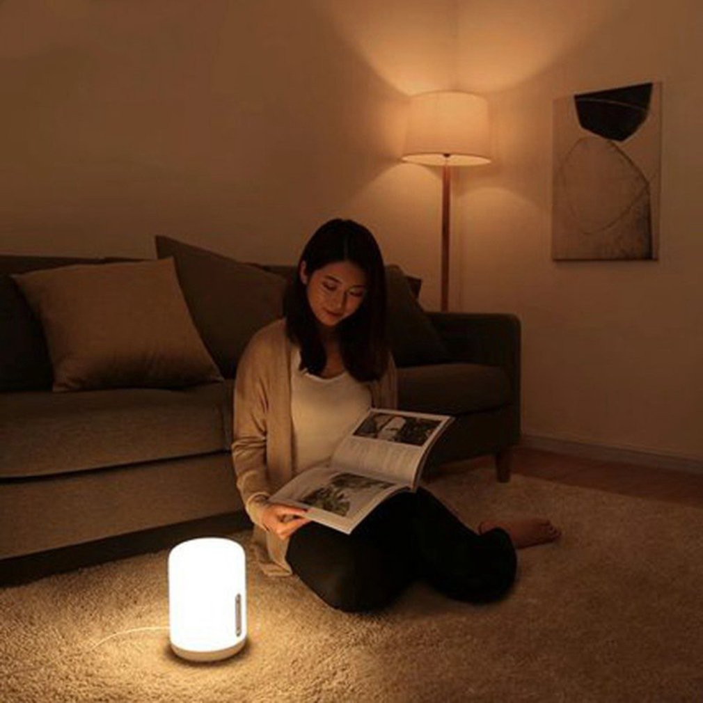 Xiaomi Bedside Lamp 2 Light Wifi Led Light Smart Indoor Night Light Works With Apple Homekit Large Luminous Area in Home Automation Modules from Consumer Electronics