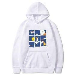 2021 Kawaii Printing Sweatshirt Women Untitled Goose Game Haikyuu Hoodie Fleece Suit Female Male Unisex Toppies Sweatshirts