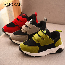 Boys Sneakers Sport-Shoes Toddler Spring Kids Soft Girls Breathable Running Children